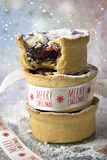 Mince pie in ramekins Stock Images