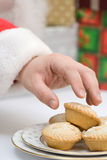 Mince Pie For Santa Royalty Free Stock Image