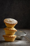 Mince Pie Stack Royalty Free Stock Photo