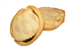 Mince pies. Fruit pies for christmas Royalty Free Stock Photography