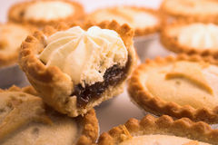 Mince Pies. Collection of mince pies Stock Images