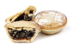 Mince Pies Isolated Stock Photos