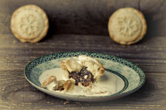 Mince Pies. Traditional Christmas Food. Royalty Free Stock Image