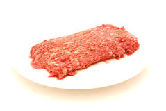 Mince raw Stock Photography
