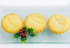Mince tarts Stock Photo