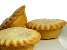 Mince tarts 4 Stock Photos