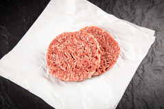 Minced beef for burgers Stock Photo