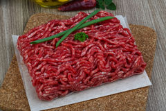 Minced beef meat. Raw Minced beef meat - ready for cooking Stock Photo