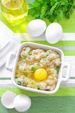 Minced chicken Stock Photos