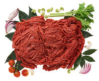 Minced horse meat Stock Photography