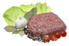 Minced meat. Royalty Free Stock Photos