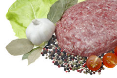 Minced meat. Royalty Free Stock Photography