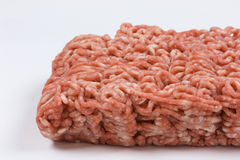Minced Meat. Isolated on a white background Stock Photo