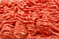 Minced meat. Background  close up photo Stock Image