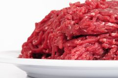 Minced meat. Royalty Free Stock Photo