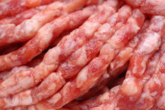 Minced meat close-up Royalty Free Stock Image