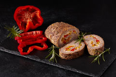 Minced Meat Loaf Royalty Free Stock Image