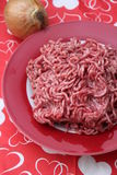 Minced Meat Royalty Free Stock Photography