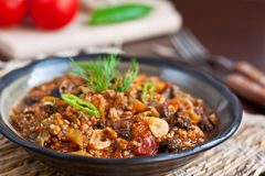Minced meat stew Royalty Free Stock Photo