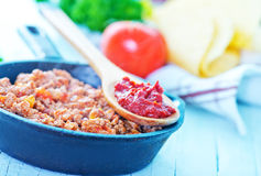 Minced meat Stock Images