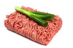 Minced Raw Meat Royalty Free Stock Image