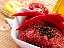 Minced mięso Fotografia Stock