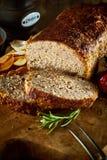 Minced mięsnej rolki meatloaf Obraz Royalty Free