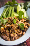Minced pork Stock Photography