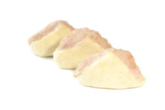 Minced pork stuffed tofu Stock Photo