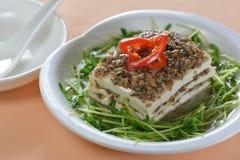 Minced Pork Tofu Stock Image