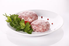 Minced raw meat Royalty Free Stock Photography