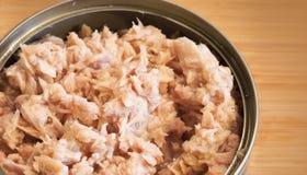 Minced tuna Stock Photo
