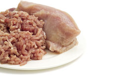 Minced turkey Royalty Free Stock Images