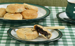 Mincemeat eccles cakes Stock Images
