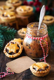 Mincemeat pies Royalty Free Stock Photography