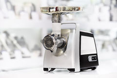 Mincer or grinder in retail store Stock Images