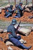 Mincer Nivelle battle reenactment Stock Photography