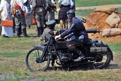 Mincer Nivelle battle reenactment Stock Photos