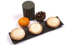 Minces pies Photos stock