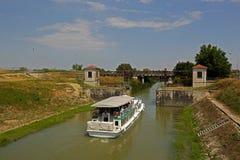 Mincio river in Govèrnolo area, Mantua  Italy Royalty Free Stock Photos
