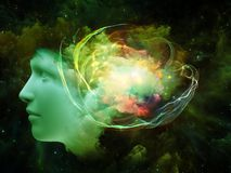 Mind Abstraction Royalty Free Stock Photography