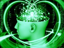 Mind Background Stock Photography