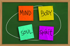 Mind Body Soul Spirit Royalty Free Stock Image