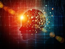 Mind Composition Royalty Free Stock Photos