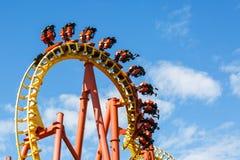 Mind Eraser Amusement Park Ride Royalty Free Stock Photo