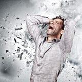Mind explosion Stock Photo
