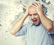 Mind explosion Stock Photography