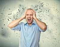 Mind explosion Stock Images