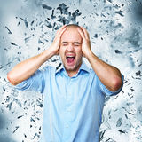 Mind explosion Royalty Free Stock Photography