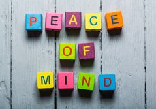 Mind. Facebook no inspirational peace wellness sign royalty free stock photography